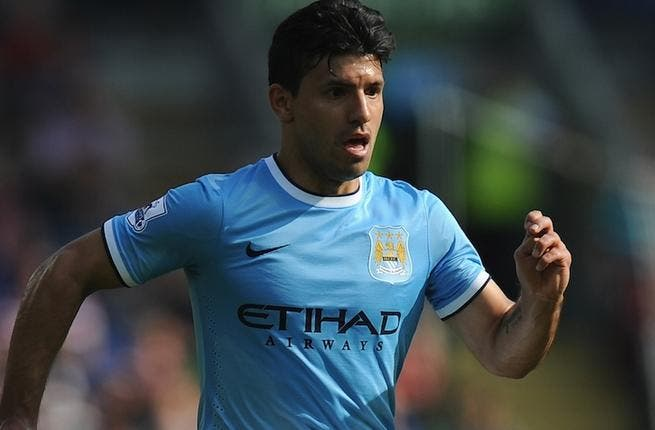 Aguero to return for Manchester City's title clash against Liverpool