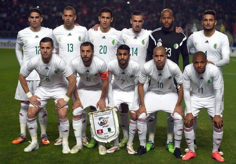 Image result for Algeria national team 2016