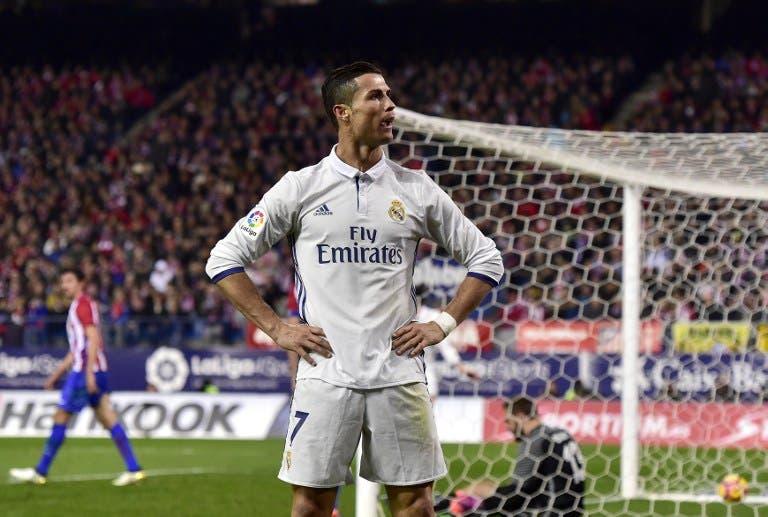 رونالدو يتعرض لإصابة خلال تدريبات ريال مدريد