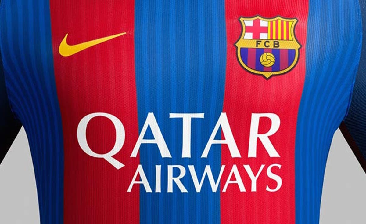 Saudi Arabia Outlaws Wearing Barcelona Jersey With Qatar Airways Logo Al Bawaba