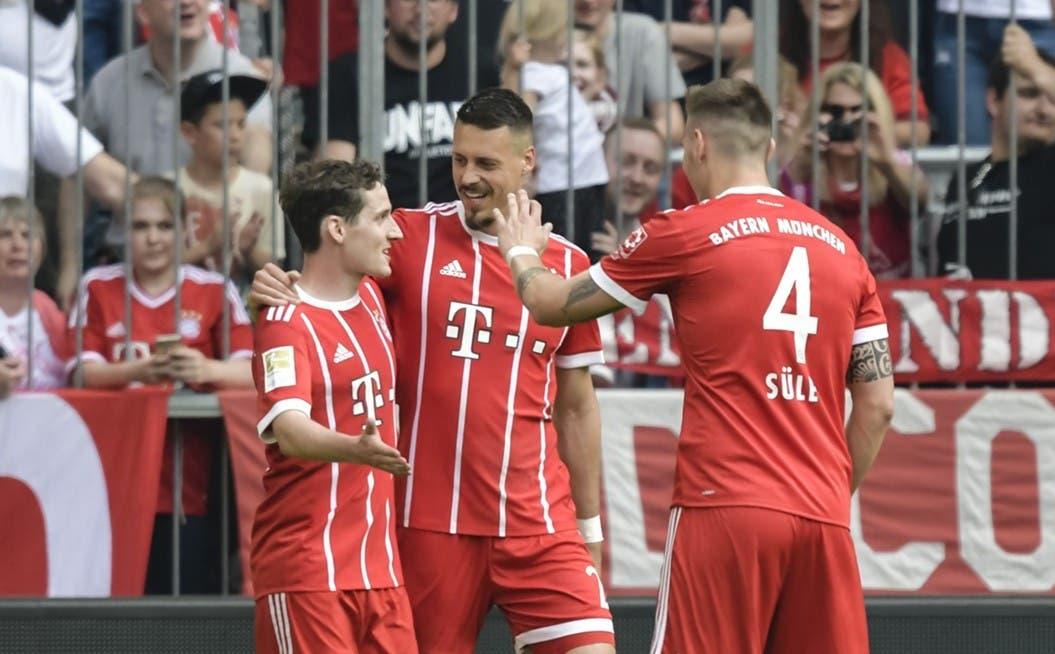 أهداف مباراة بايرن ميونيخ وآينتراخت فرانكفورت 4-1 الدوري الألماني   البوابة