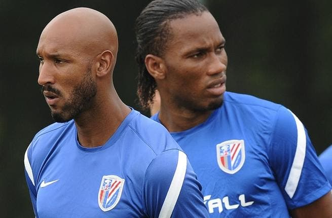 Drogba, Anelka end their Chinese spell