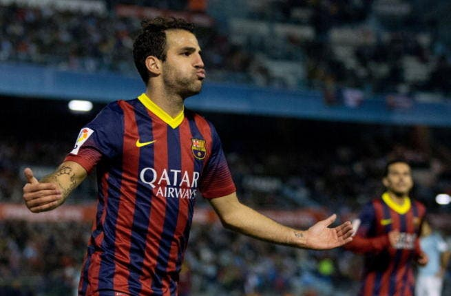 Man U hoping to net Fabregas after Barca opens up for Spaniard's offers