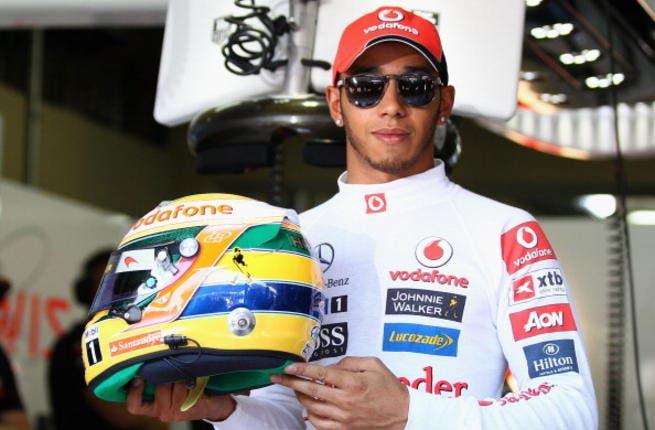 Hamilton says F1 legend Ayrton Senna inspired his style of driving