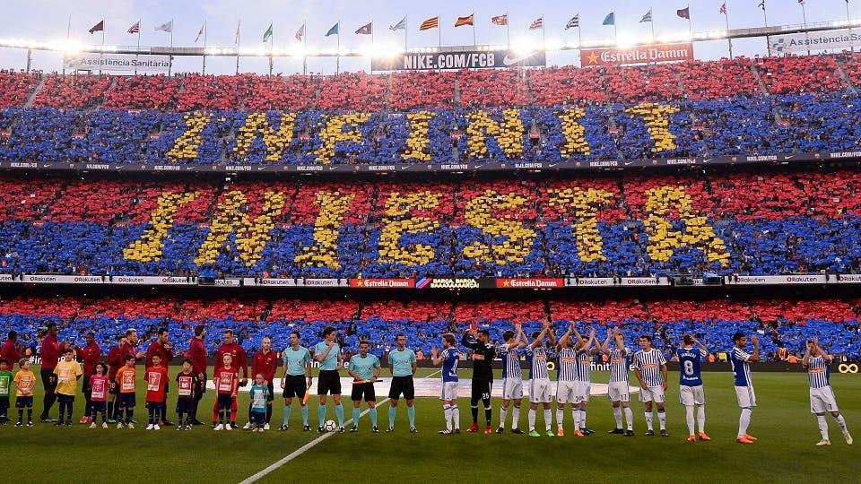 ملخص مباراة برشلونة وريال سوسييداد 1-0 الدوري الإسباني   البوابة
