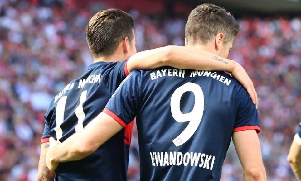 أهداف مباراة كولن وبايرن ميونيخ 1-3 الدوري الألماني   البوابة
