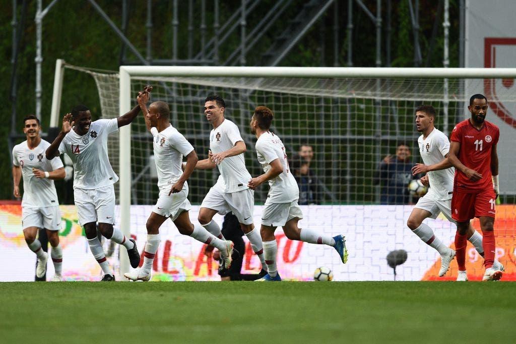 أهداف مباراة البرتغال وتونس 2-2 الودية