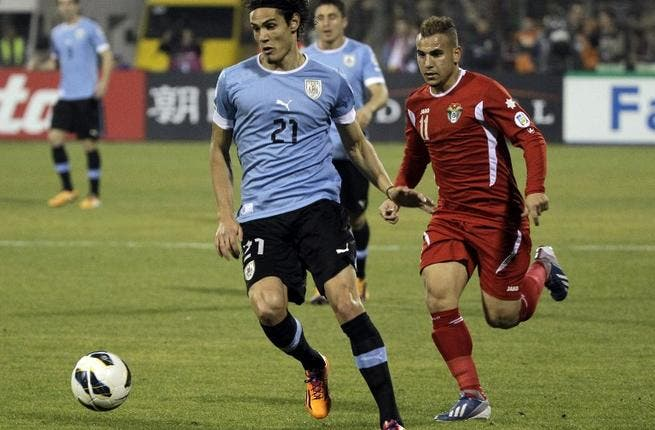 Jordan lose to Uruguay 5-0 in World Cup qualifying play-off