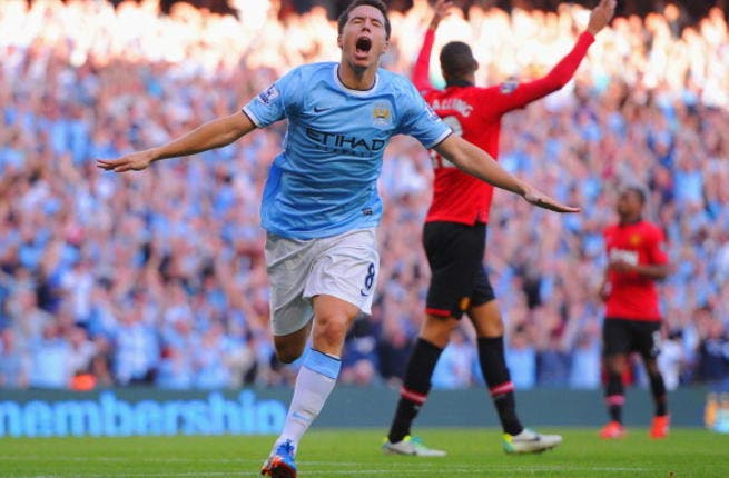 Nasri out for 'eight weeks'