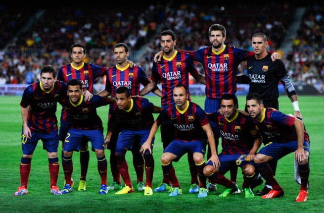 Barca in 'prime condition to face Man City'