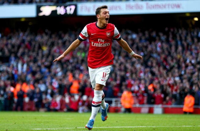 Ozil 'satisfied' with first season at Arsenal