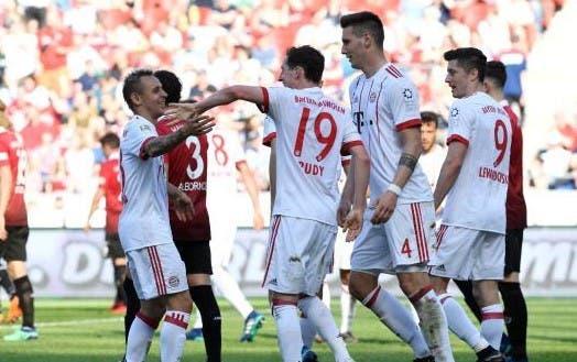 أهداف مباراة هانوفر وبايرن ميونيخ 0-3 الدوري الألماني   البوابة
