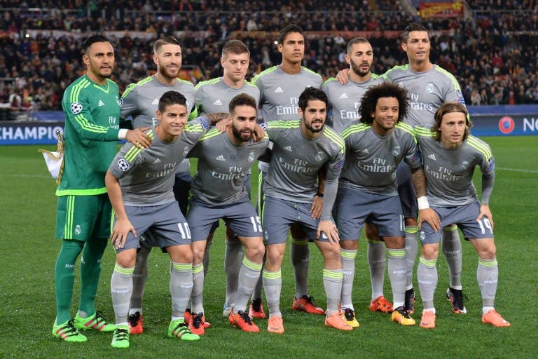 Image result for real madrid squad 2017