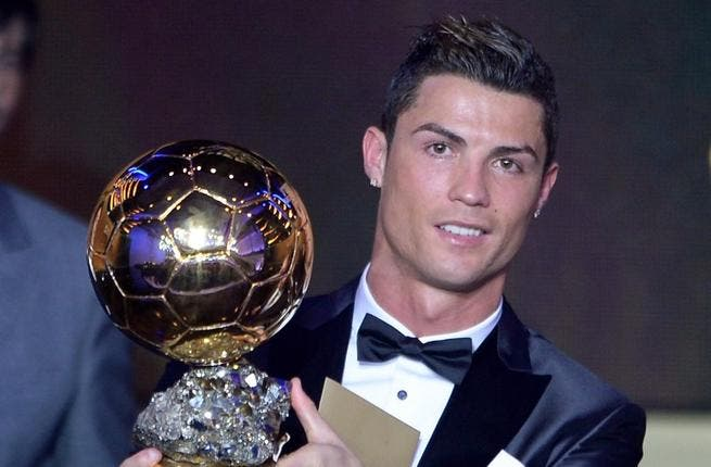 Football world hails Ballon d'Or winner Cristiano Ronaldo on Twitter