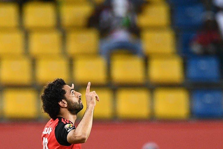 Egyptian footballer Mohamed Salah