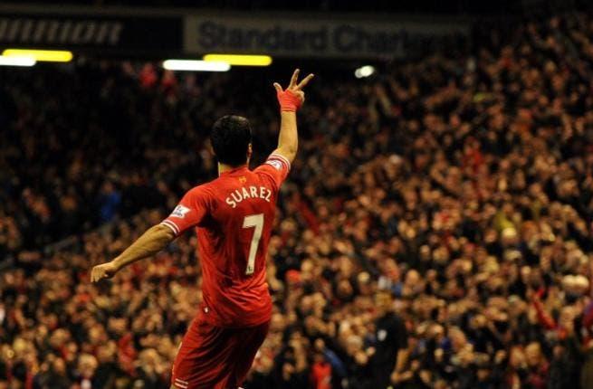 Suarez ahead of Ronaldo in European Golden Shoe race