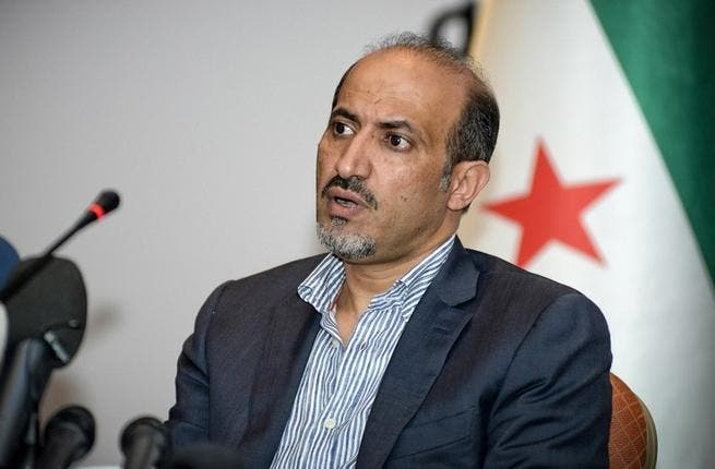 NC leader Ahmad Assi Jarba attending a Syrian oppositon meeting in Istanbul (AFP / ANC)