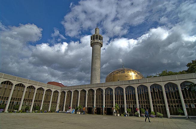 Central Mosque in London. (Photo Flickr)