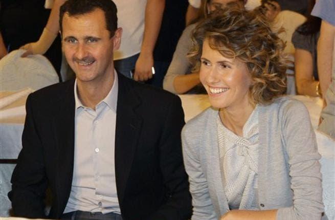 Assad couple