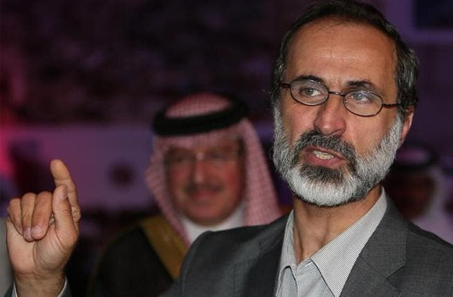 The head of the Syrian National Coalition Moaz al-Khatib resigned on Sunday.