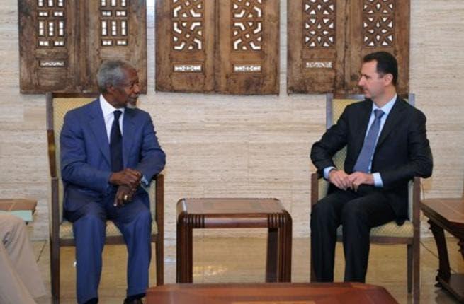 Assad and Annan