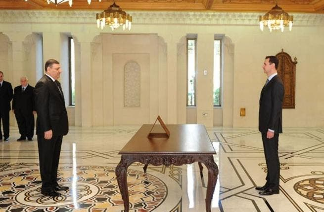 Assad and new PM