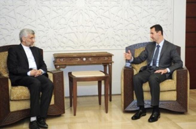 Assad and Jalili
