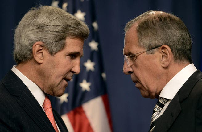 The US has said that by not assigning blame to the Assad regime for the August 21 chemical attacks, Russia is