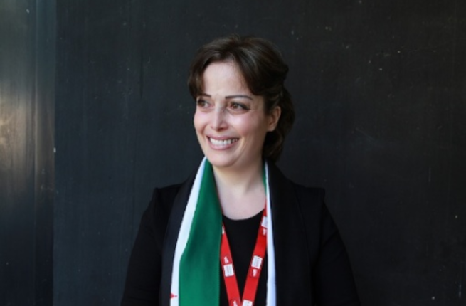 Atassi was beaten and held for her involvement in protests at the beginning of Syria's uprising. [Reuters]
