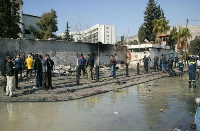 Blasts hit Syrian capital