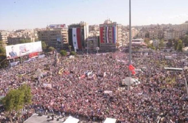 Aleppo rally