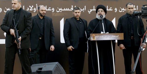 The head of Lebanon's militant Shiite Muslim movement Hezbollah, Hassan Nasrallah. [Getty Images]