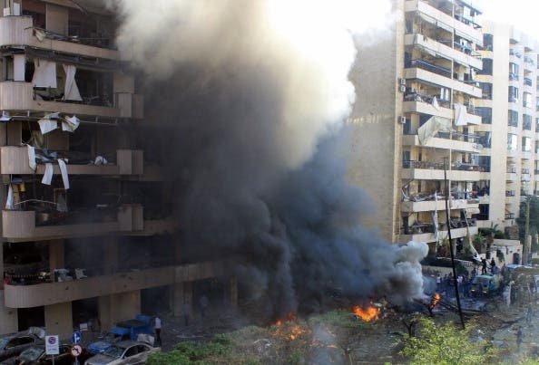 At least 22 people were killed in a double bomb attack outside the Iranian embassy in Beirut on November 19, 2013. [Getty Images]