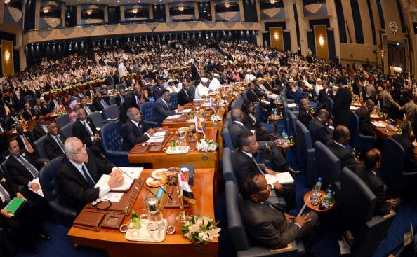 The two-day summit  in the Capital Kuwait city will discuss a number of economic and political issues that are of concern to the Arab and African countries. [YASSER AL-ZAYYAT/Getty Images]