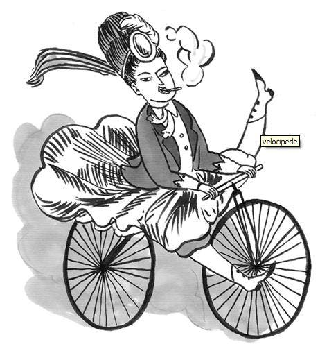 During the 1980's mastery of the bicycle was a metaphor for women's mastery over their own lives, today women in Egypt take to the wheel as a way to voice their dissatisfaction with the seemingly natural place of women. [harkavagrant.com]