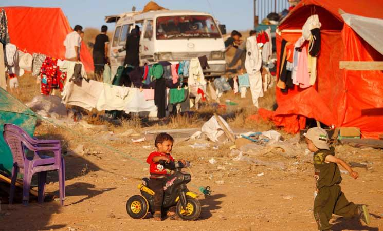 الأمم المتحدة: 270 ألف نازح جنوب سوريا   البوابة