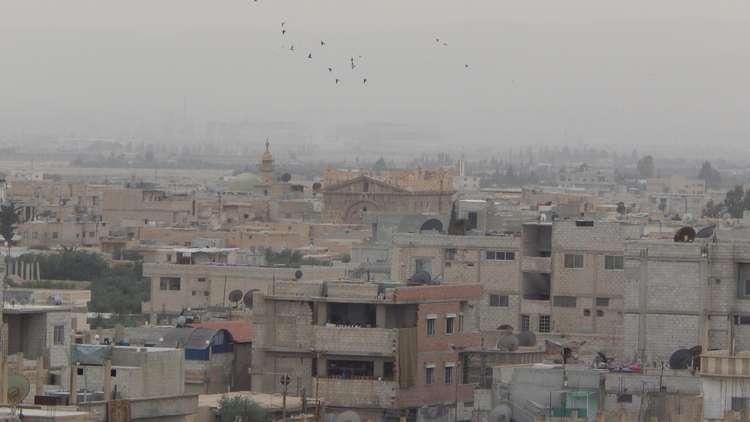 بلدة الضمير الواقعة في منطقة القلمون الشرقي