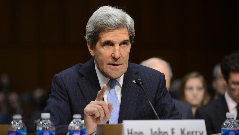 Secretary of State John Kerry. [UPI/Kevin Dietsch]