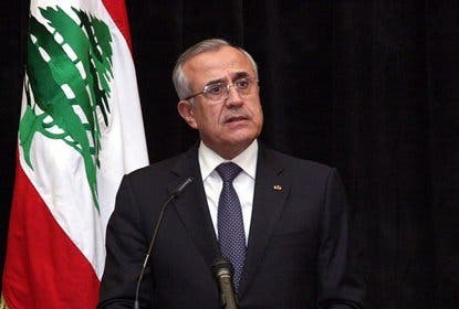 Lebanese President Michel Suleiman. [naharnet]