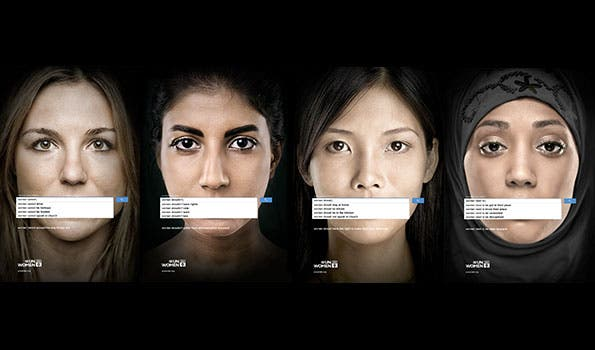 UN Women ad campaign uses Google to highlight global gender inequality. [unwomen.org]
