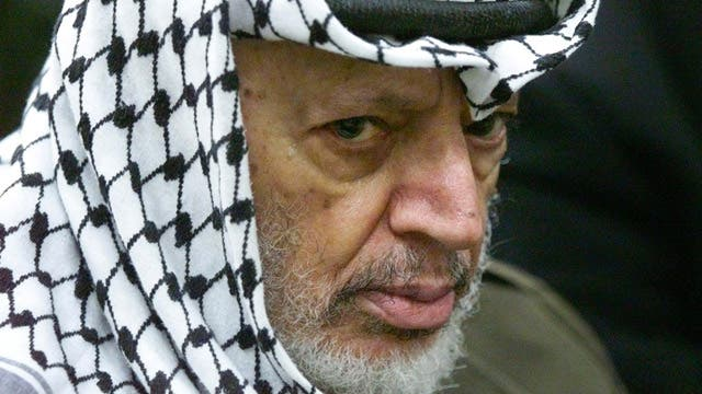 Palestinian leaders react to Yasser Arafat alleged poisoning [theguardian.com]