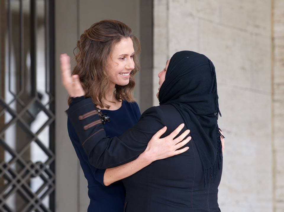 Asma Al Assad Mother Of The Nation Instagram Doesn T