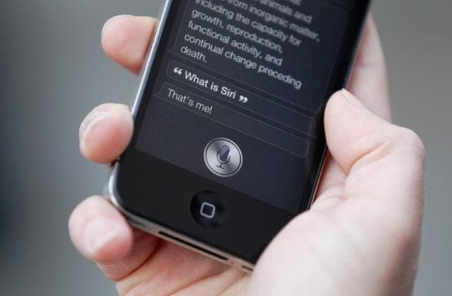 Fazio claims that in Apple commercials, Siri can easily