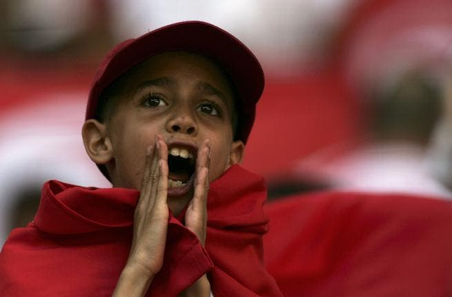 Tunisian boy shouts (image used for illustrative purposes)