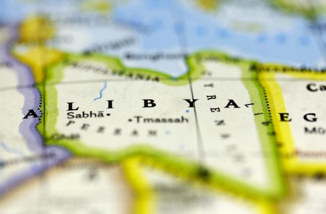 Libya on map (shutterstock/Marcio Jose Bastos Silva)