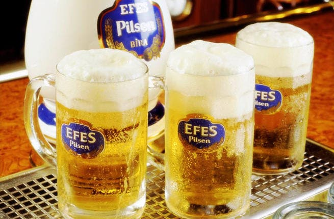 Efes will no longer be able to advertise in Turkey under the 'booze law'
