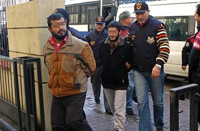 Suspected Al Qaeda members are arrested by Turkish police after an operation earlier in the region. [guardian]