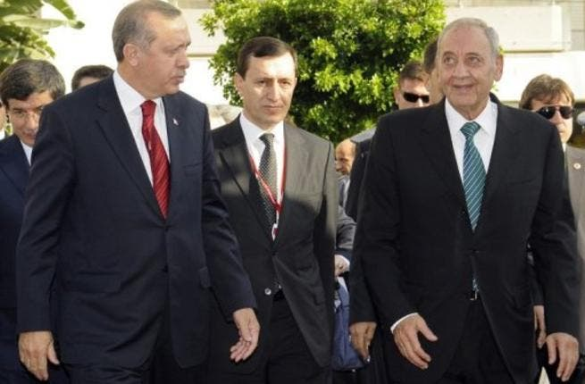 Turkish PM in Lebanon
