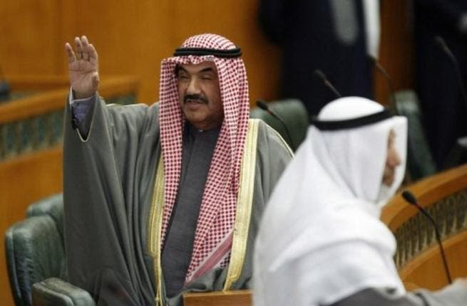 Kuwait Prime Minister waves in parliament (File photo)
