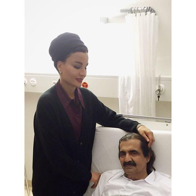 شاهد عبرت الشيخة موزة حبها للشيخ تعافيه بالصور! بوابة 2014,2015 ameer-29-223.jpg